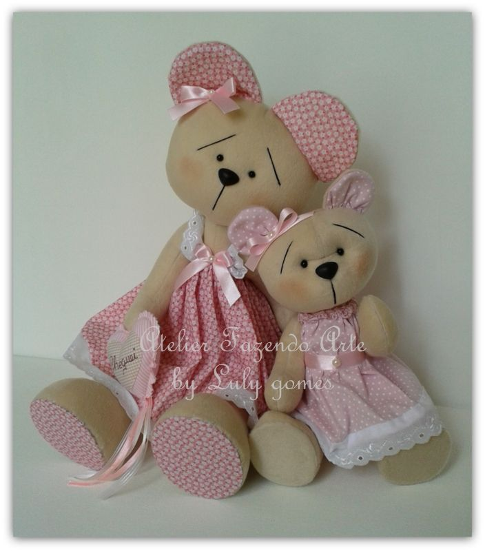 Ursinhas decorativas.....
