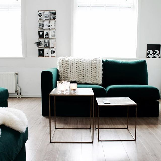 Living Room Decor Ikea: Green Home Decorating Ideas