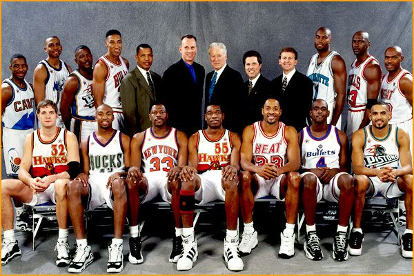 1997 NBA All-Star Game Glenn Rice won the MVP with 20 third quarter point  but His Airness 2b162a57e
