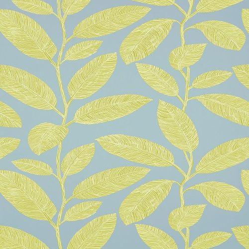 Thibaut Wallpapers Biscayne Komodo Leaves T5716 Green