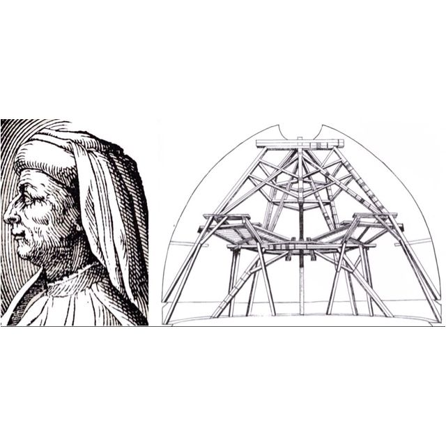Brunelleschi's Dome in Florence. The knowledge to create