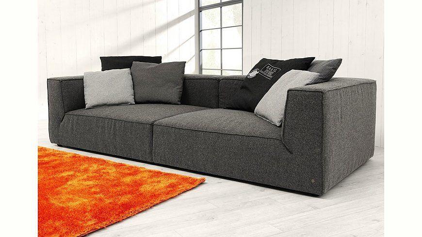 Tom Tailor Big Sofa Big Cube Wahlweise Mit Sitztiefenverstellung