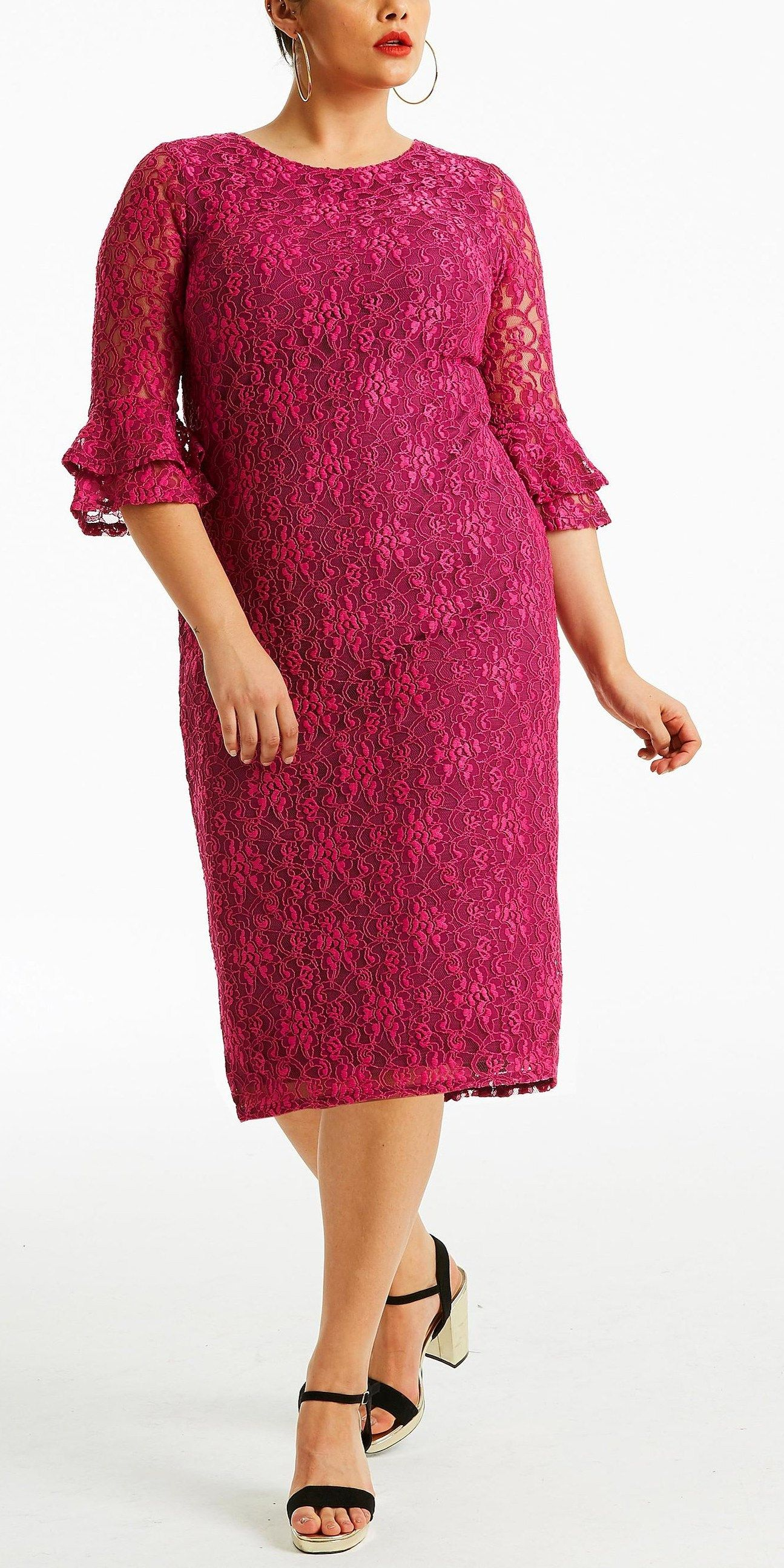 36 Plus Size Wedding Guest Dresses With Sleeves Alexa Webb Wedding Party Dress Guest Plus Size Party Dresses Plus Size Wedding Guest Dresses [ 2591 x 1295 Pixel ]