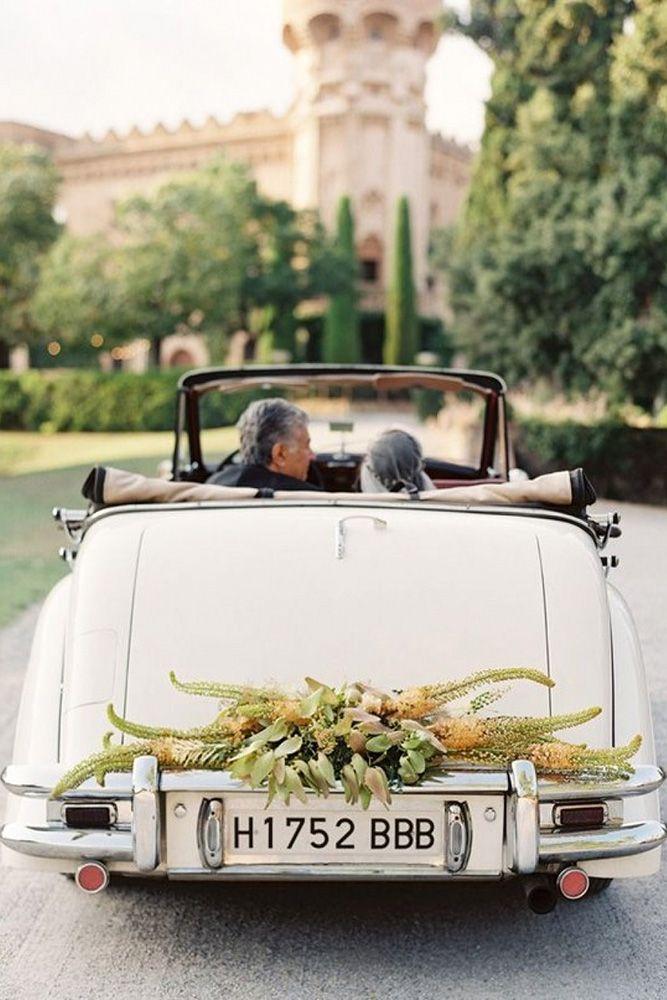 30 Vintage Wedding Car Decorations Ideas Vintage Wedding Cars
