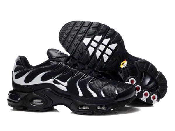 separation shoes 5e6ca 2ffaf Chaussures de Nike Air Max Tn Requin Homme Noir et Blanc Prix Tn