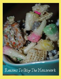 Easter Chex Mix To Make.......  Really Easy to make!!