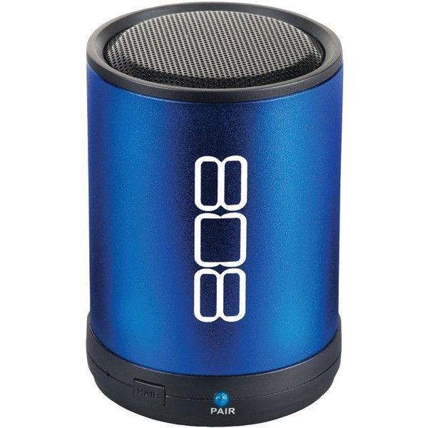 808 SP880BL Bluetooth Portable Speaker (Blue)