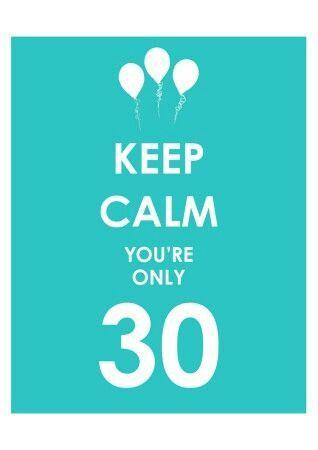 30 Jaar Gefeliciteerd Verjaardag 30 Verjaardag Verjaardag