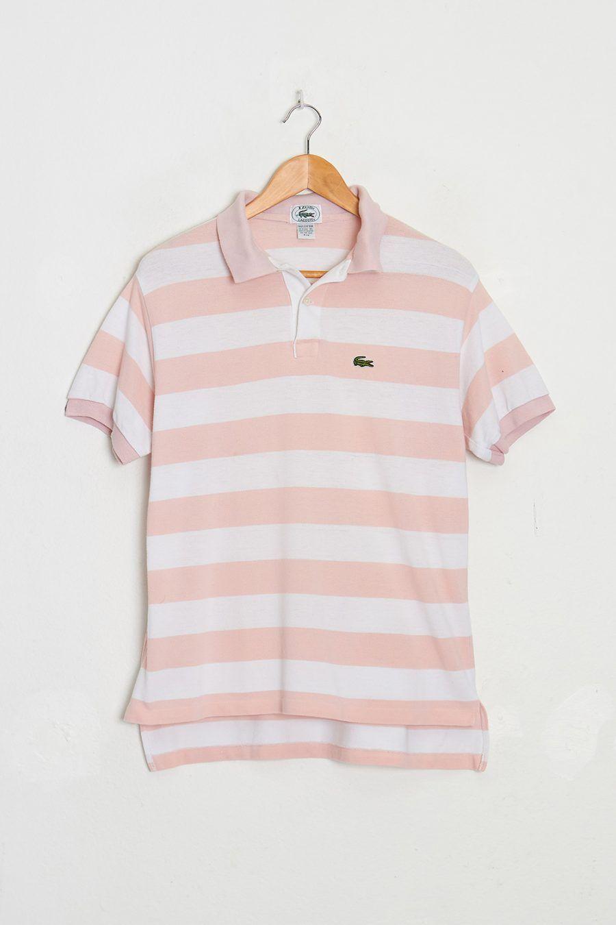8b158b3d Vintage Izod Lacoste Stripe Polo T-shirt | New Arrivals | Vintage ...