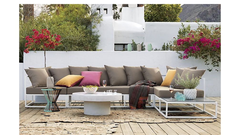 Cb2 Patio Furniture Casbah Outdoor Sectional | Cb2 - Cb2 Patio Furniture Casbah Outdoor Sectional Cb2 Patio Furniture