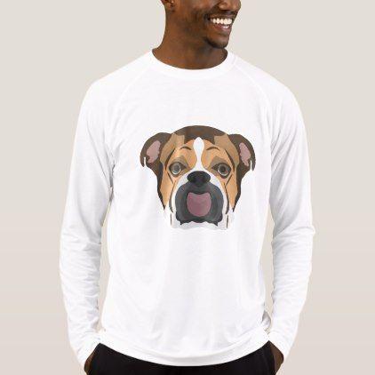 Fitness English T Sportswear Mens Illustration Bulldog Shirt 5j4L3RqA
