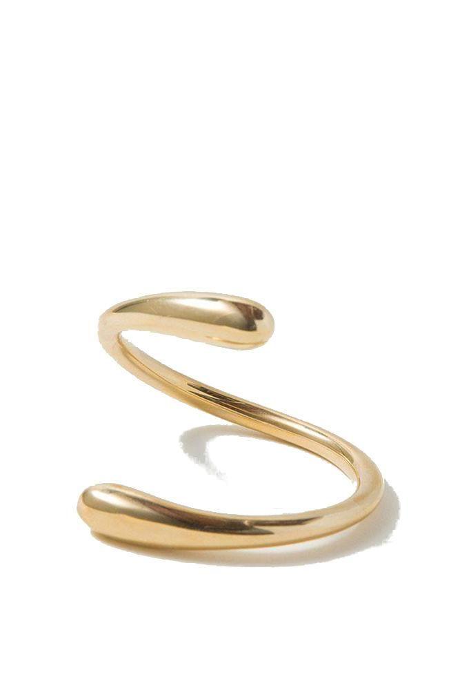Soko Twisted Dash Cuff in Brass