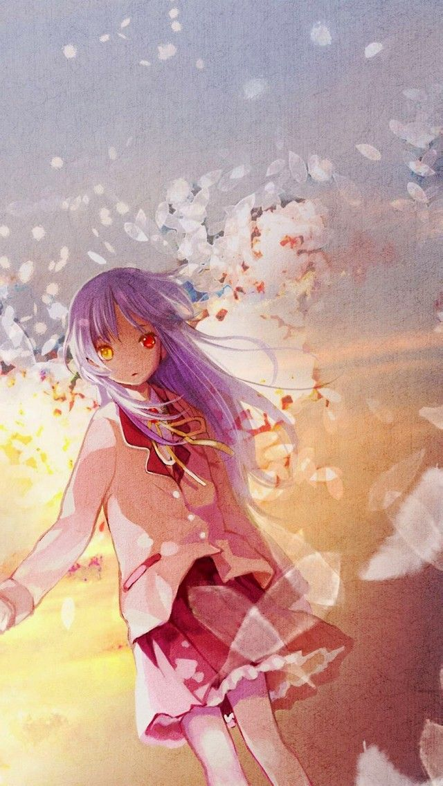 Angel Beats Love 640 X 1136 Wallpapers Available For Free