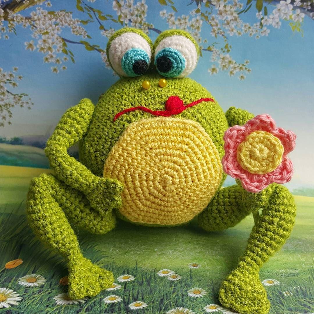 Лягушка #frog #frogamigurumi #лягушка #вязание #вязанаяигрушка ...