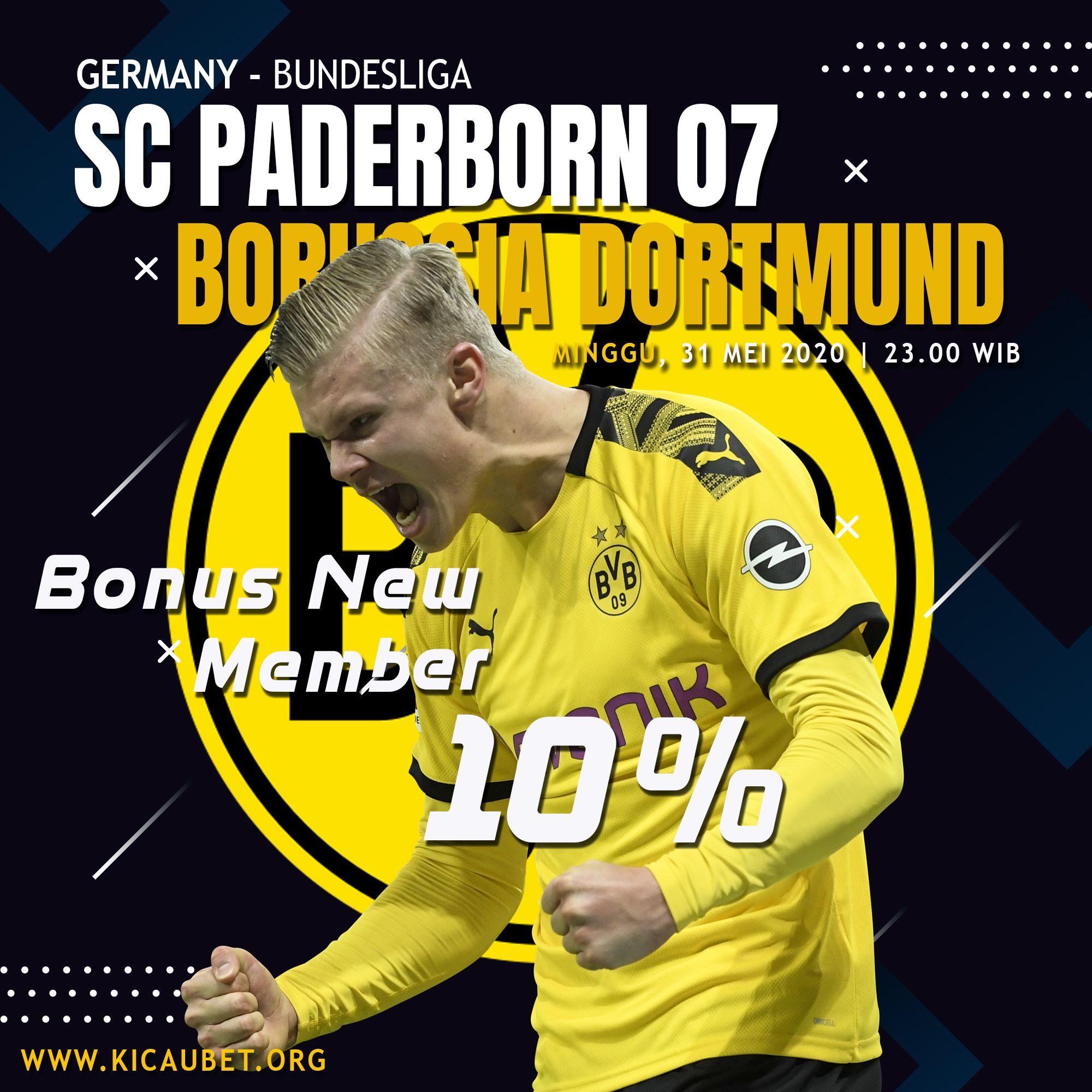 Sc Paderborn Borussia Dortmund