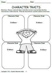 Character Analysis  KayleeS Education Studio  Teaching