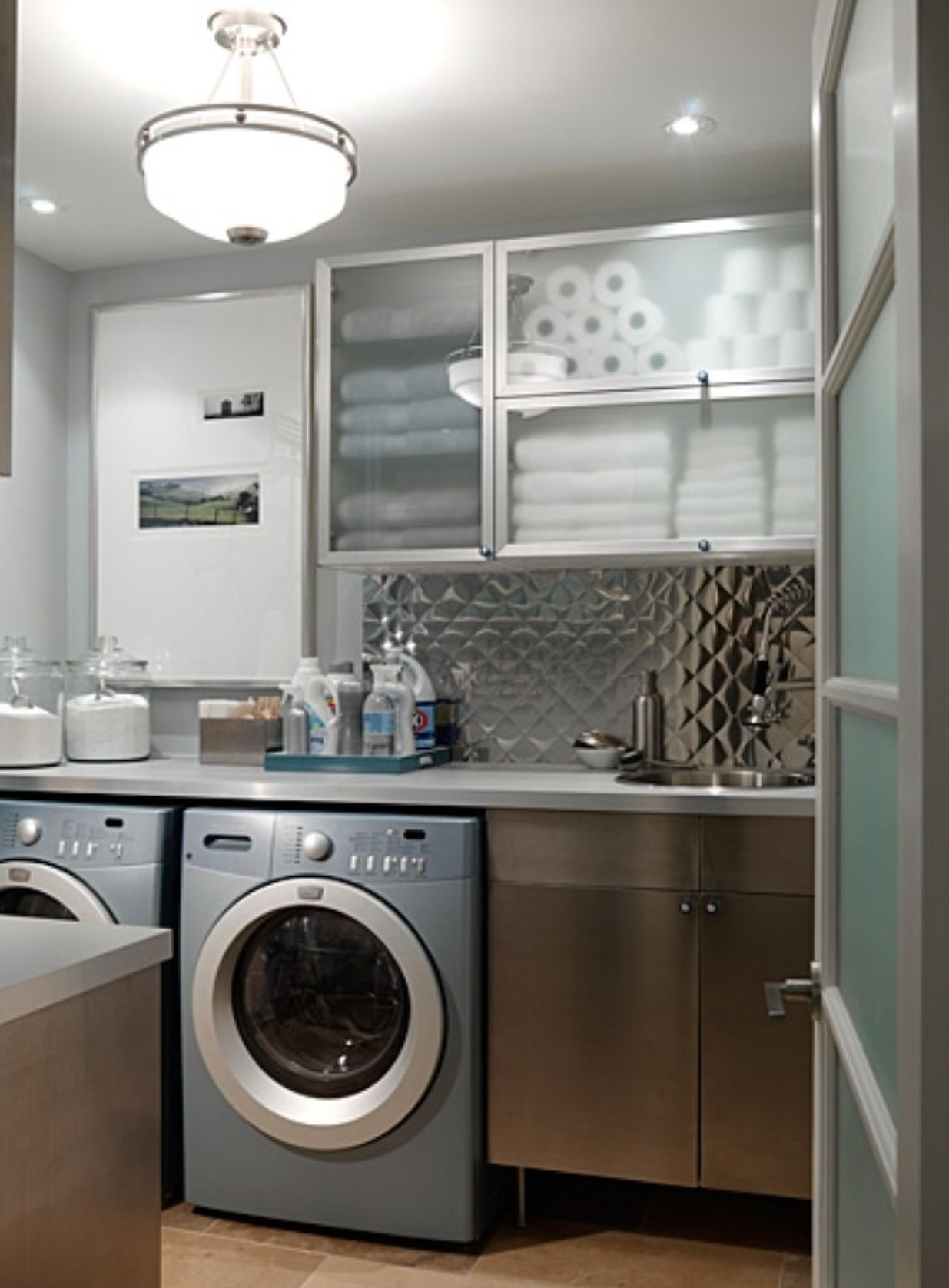 50 ways to make your laundry room pop | laundry, laundry rooms and