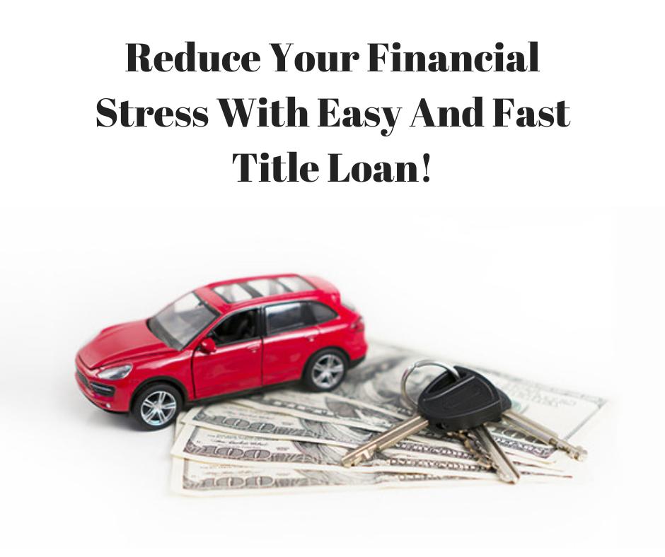 Reduce Financial Stress Financial Stress Loans For Bad Credit Loan