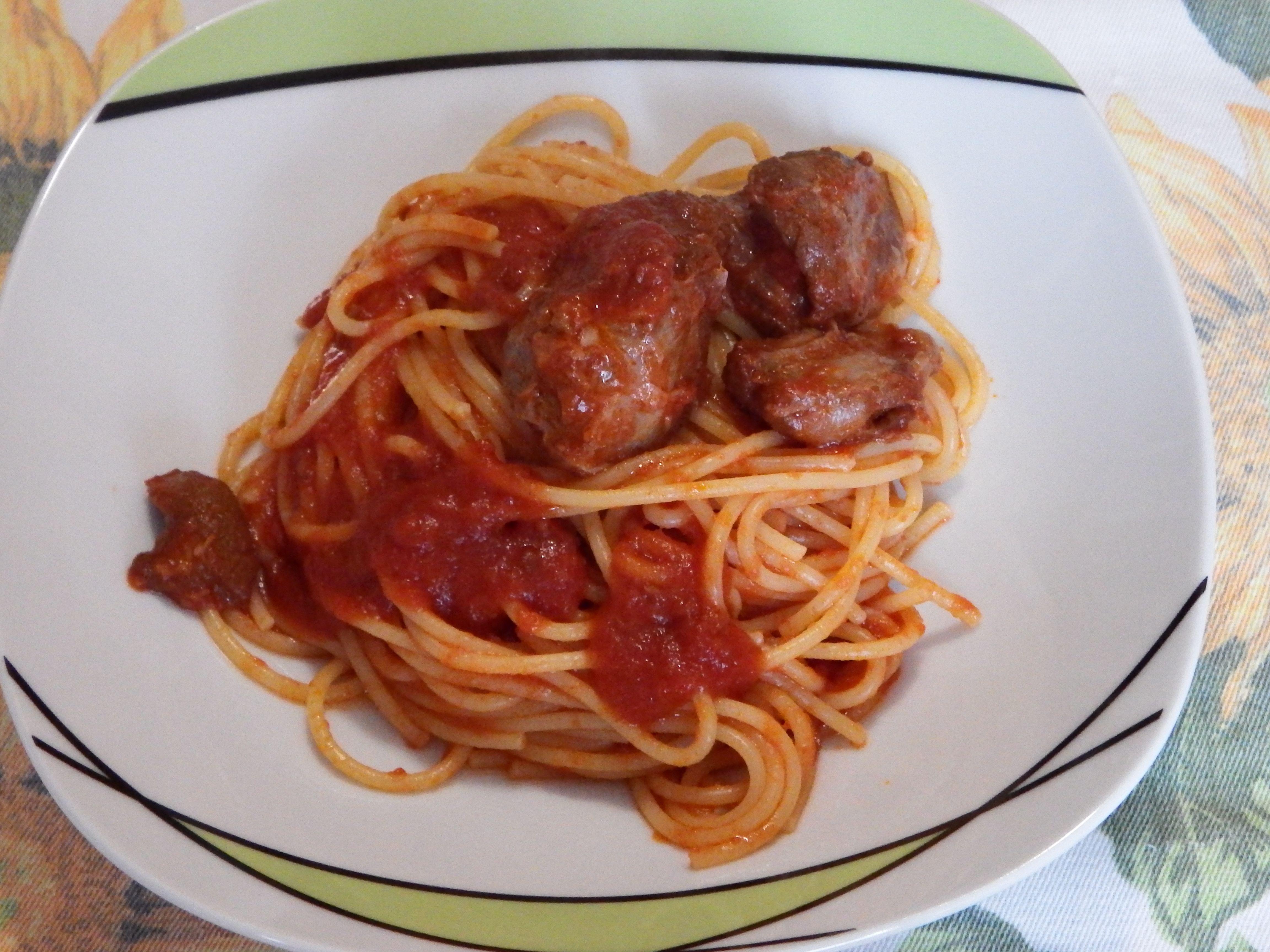 #spaghetti al #ragù di #cinghiale