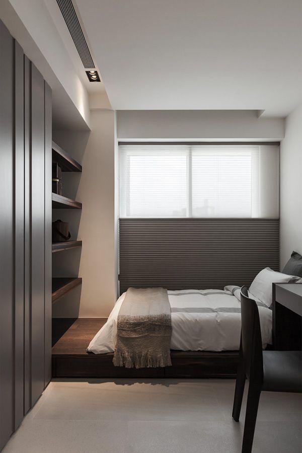 Bed room FOLK DESIGN THE GREY