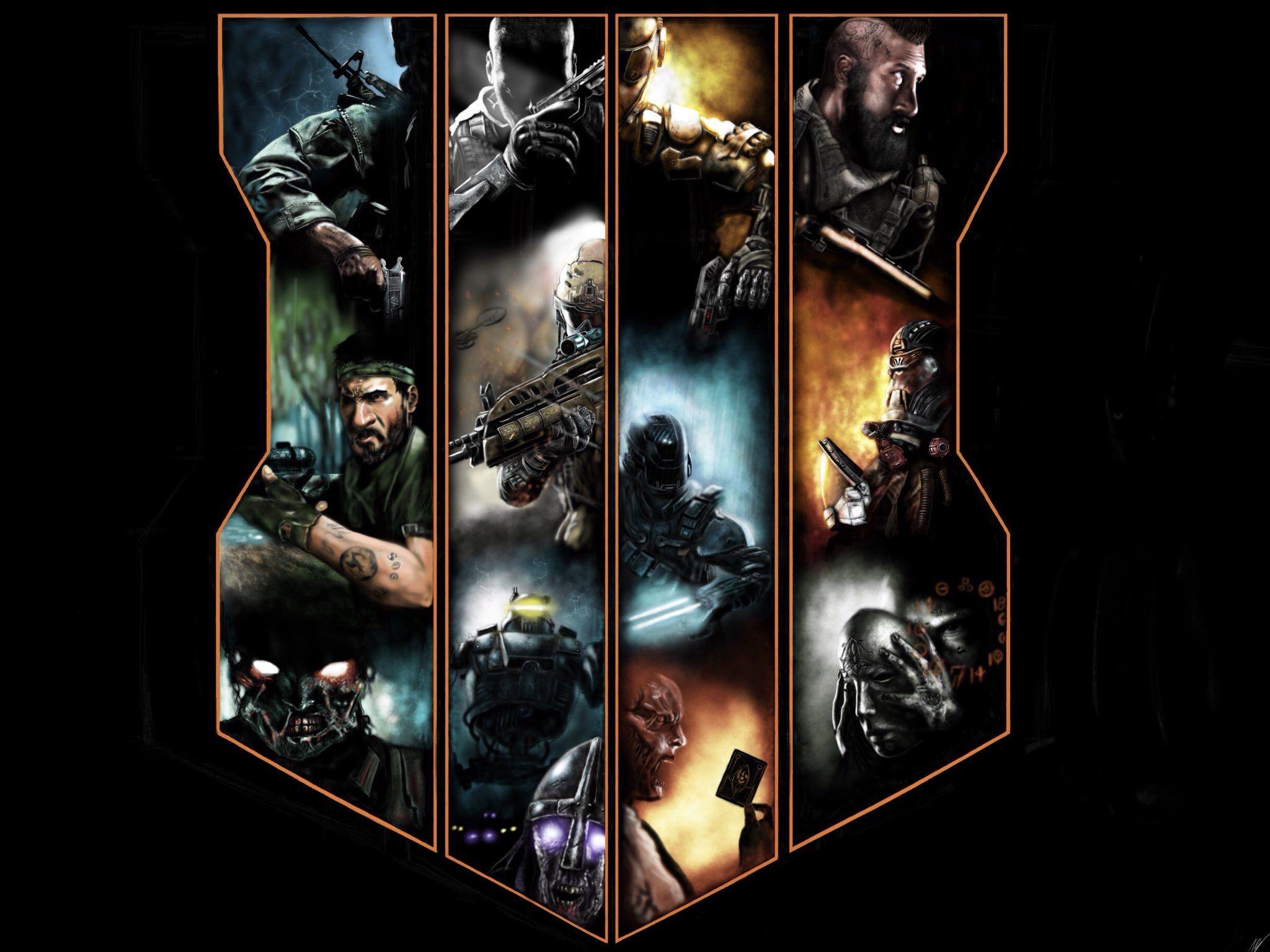Fanart Call Of Duty Black Ops 4 Fondos De Pantalla De Juegos Fondos De Pantalla Black Black Ops
