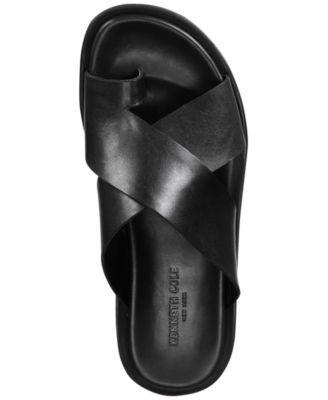 Under-Sand-Able Slide Sandals - Black