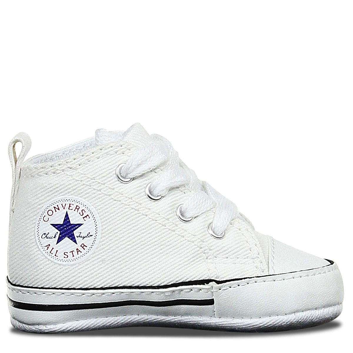 ac7a439e67dac5 Baby Converse Chuck Taylor First Star Infant High Top White