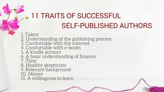 11 traits of successful self-published authors The Business of - self published author