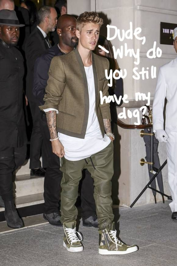 Justin Bieber's Dad Reportedly Threw His Dog Out The Window In A Fit Of Rage!