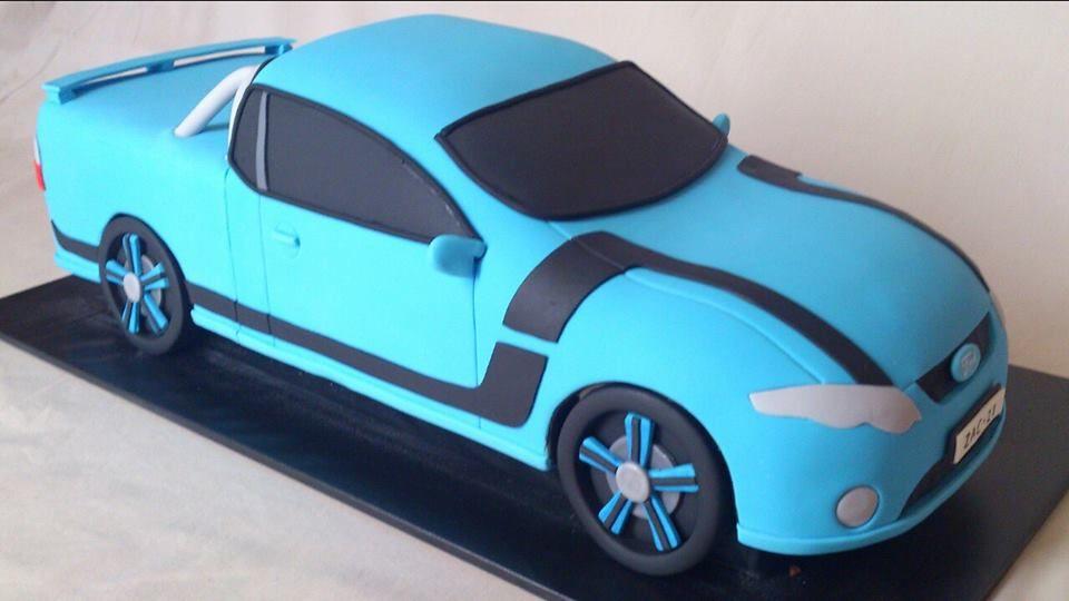 Blue Ford Ute Cake Car Cake Ute Ford