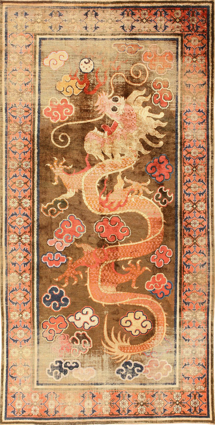 Antique Silk Dragon Chinese Rug 48997 Chinese Rug Antique Rugs Rugs On Carpet