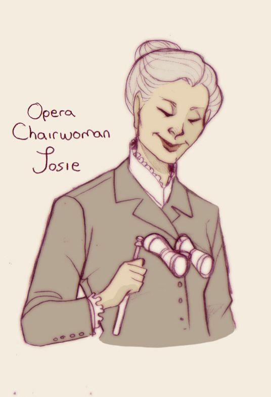 Opera Chairwoman Josie