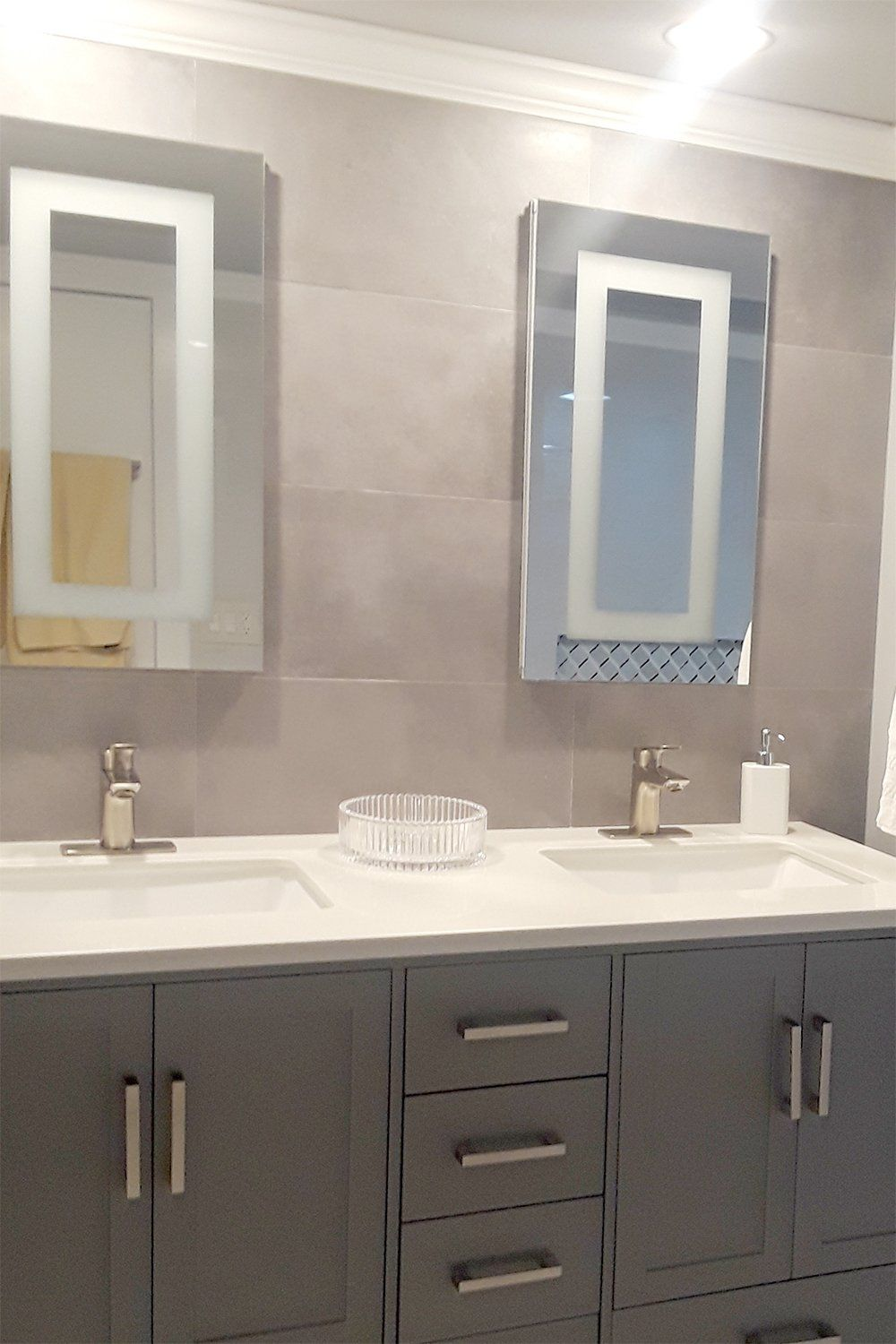 Mirrors And Marble Brand Commercial Grade Flush Mounted Led Lighted Led Bathroom Mirror Medicine C Bathroom Mirror Medicine Cabinet Mirror Led Mirror Bathroom