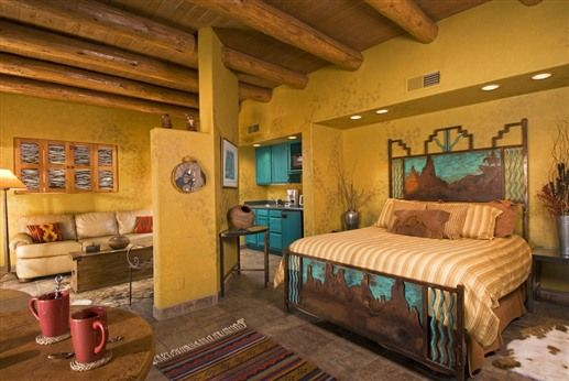 Great Southwestern Home Decor At Adobe Pines Inn In Taos New