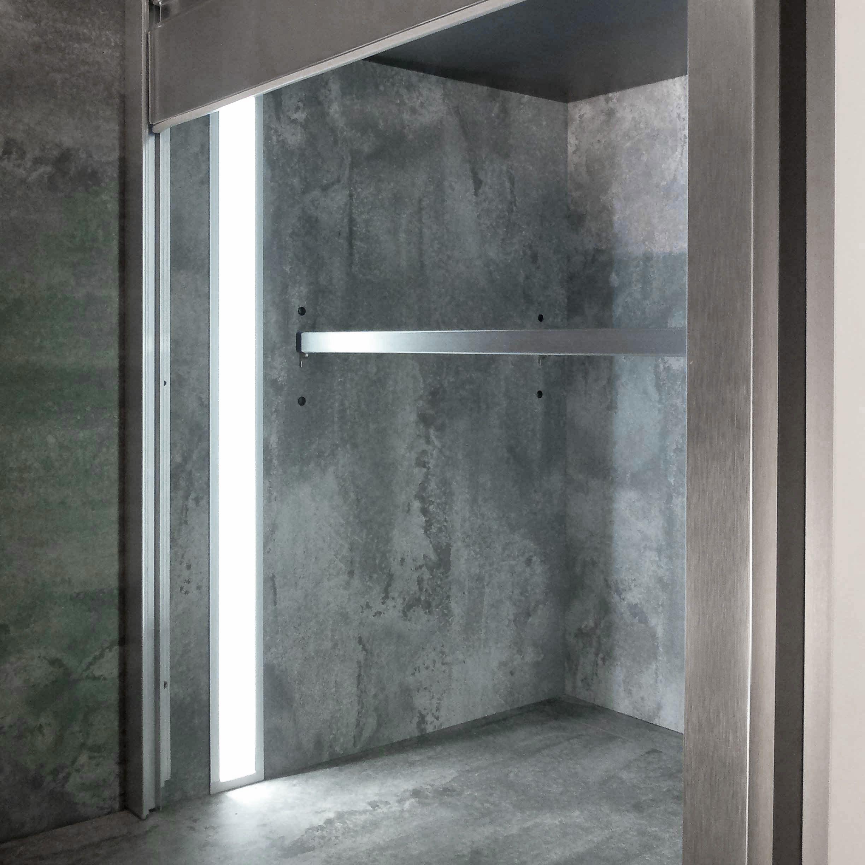 led aluminiumprofil unterputz verbaut die leds leuchten bei diesem profil nicht direkt an die. Black Bedroom Furniture Sets. Home Design Ideas