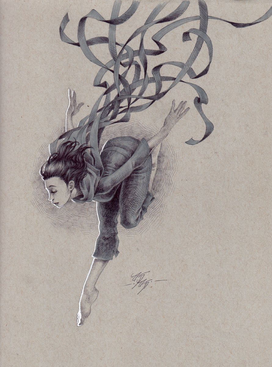 Kevin Keele S Toned Paper Illustrations Toned Paper Sketches