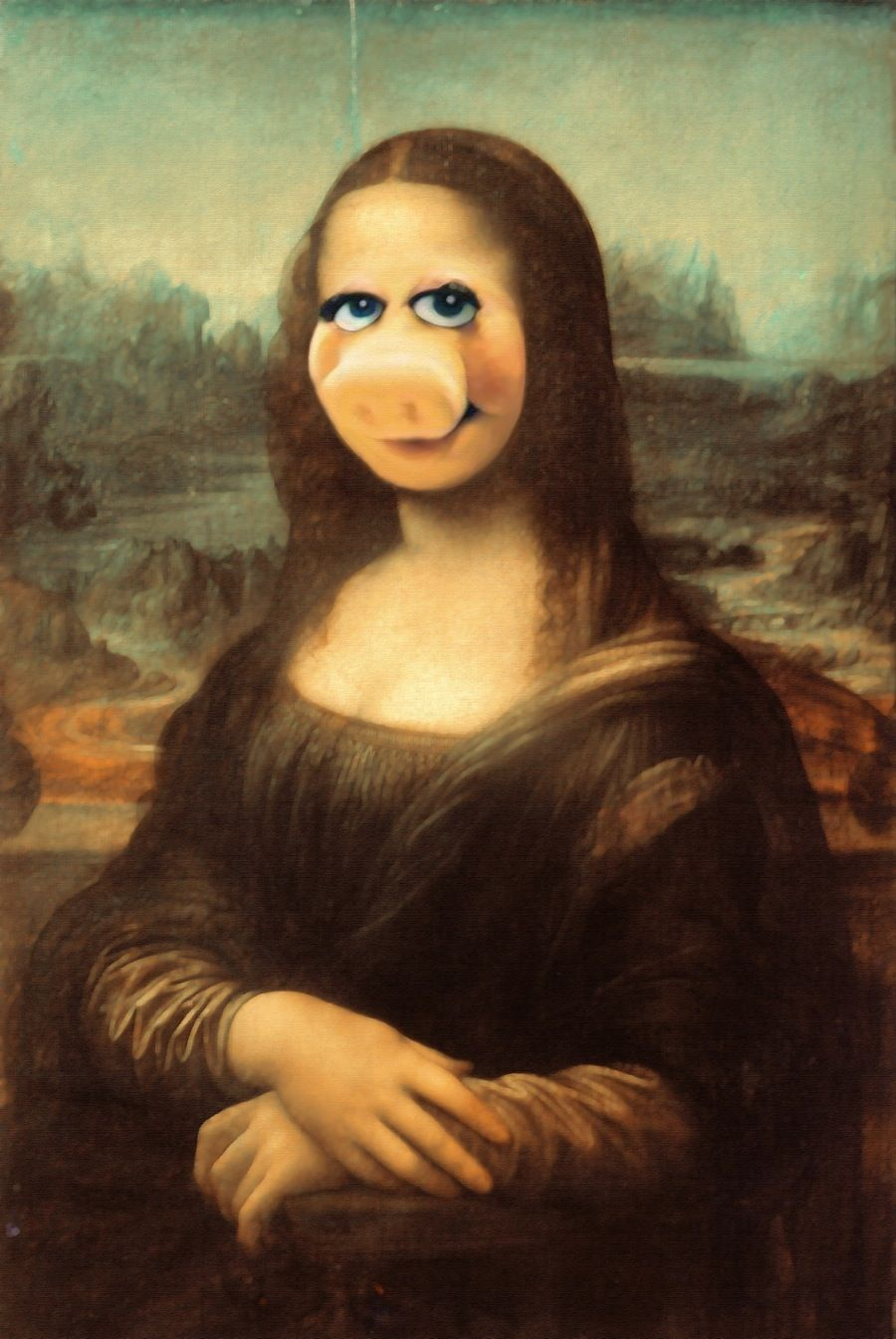 Miss Mona Piggy by SuperDuperCookie