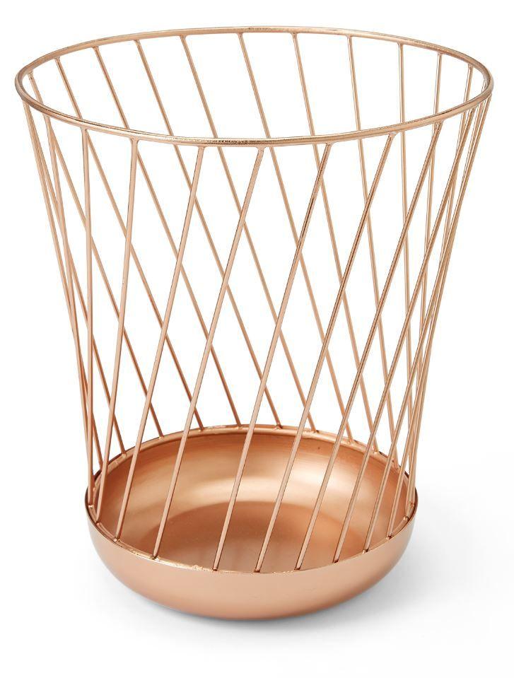 Odessa Metal Bin Copper Black Copper Designs In 2019
