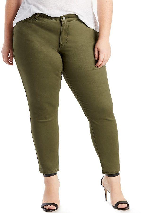 9ad9153448 Levi s Levis Plus Size 711 Skinny Ankle Jeans