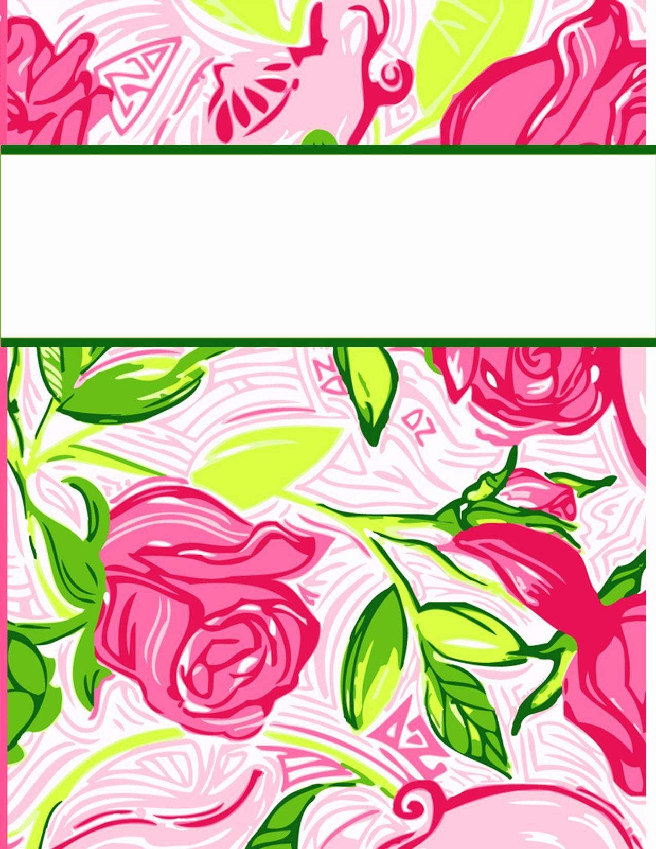 Free Background Templates for Word Fresh My Cute Binder