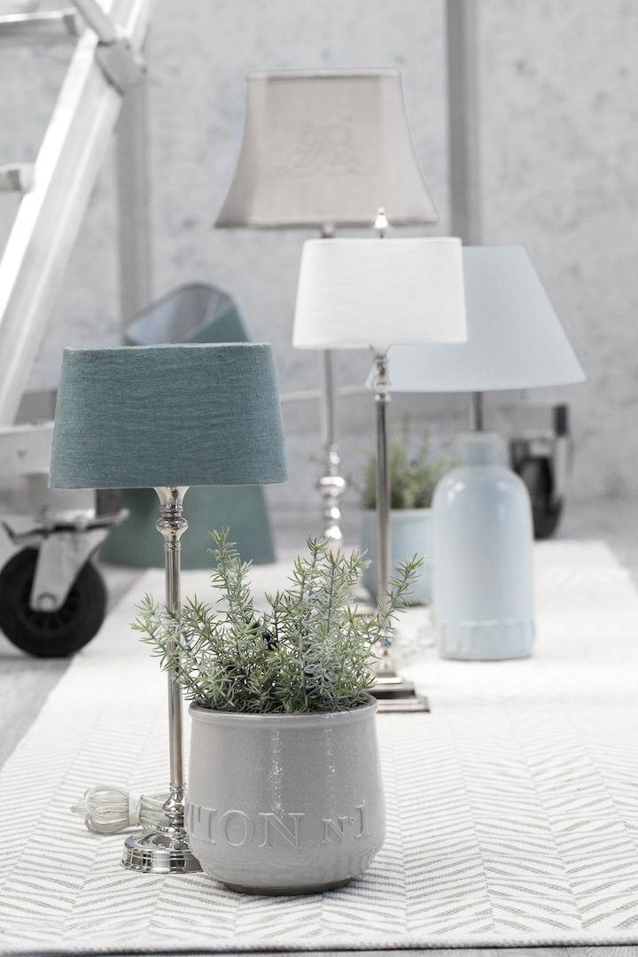 lampenfu elvira vernickelt silber von lene bjerre pinterest wohnungsdeko tischlampe und. Black Bedroom Furniture Sets. Home Design Ideas
