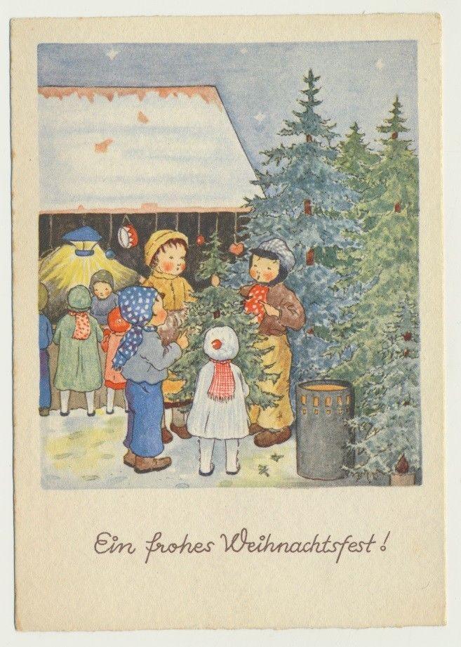 Первая открытка в германии