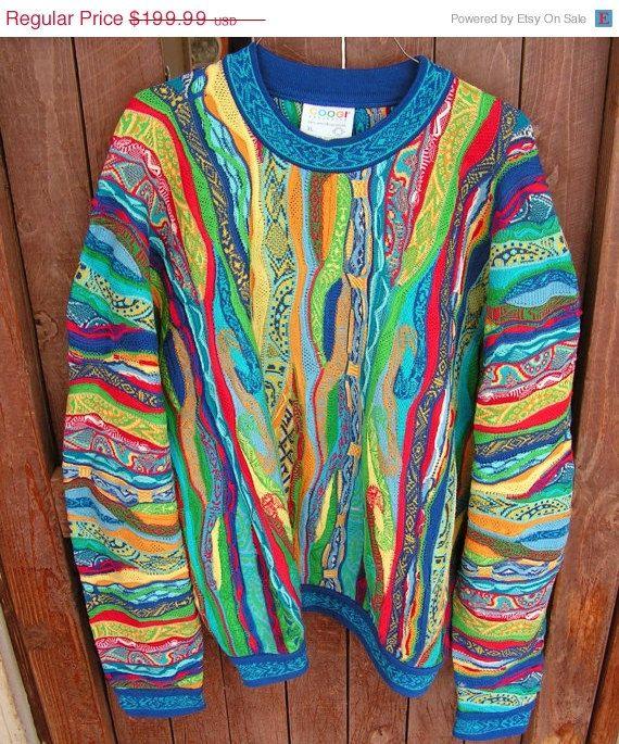Vintage Coogi Australia Sweater Size Xl Im So Fancy Streetwear Fashion Ideas Tricot