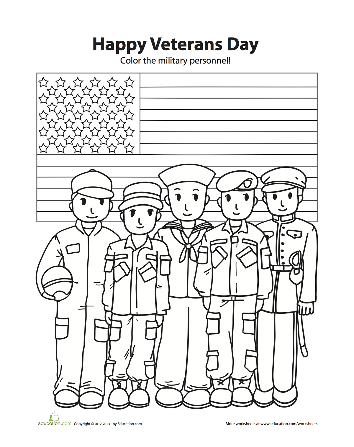 Veterans Day Coloring Pages - Get Coloring Pages