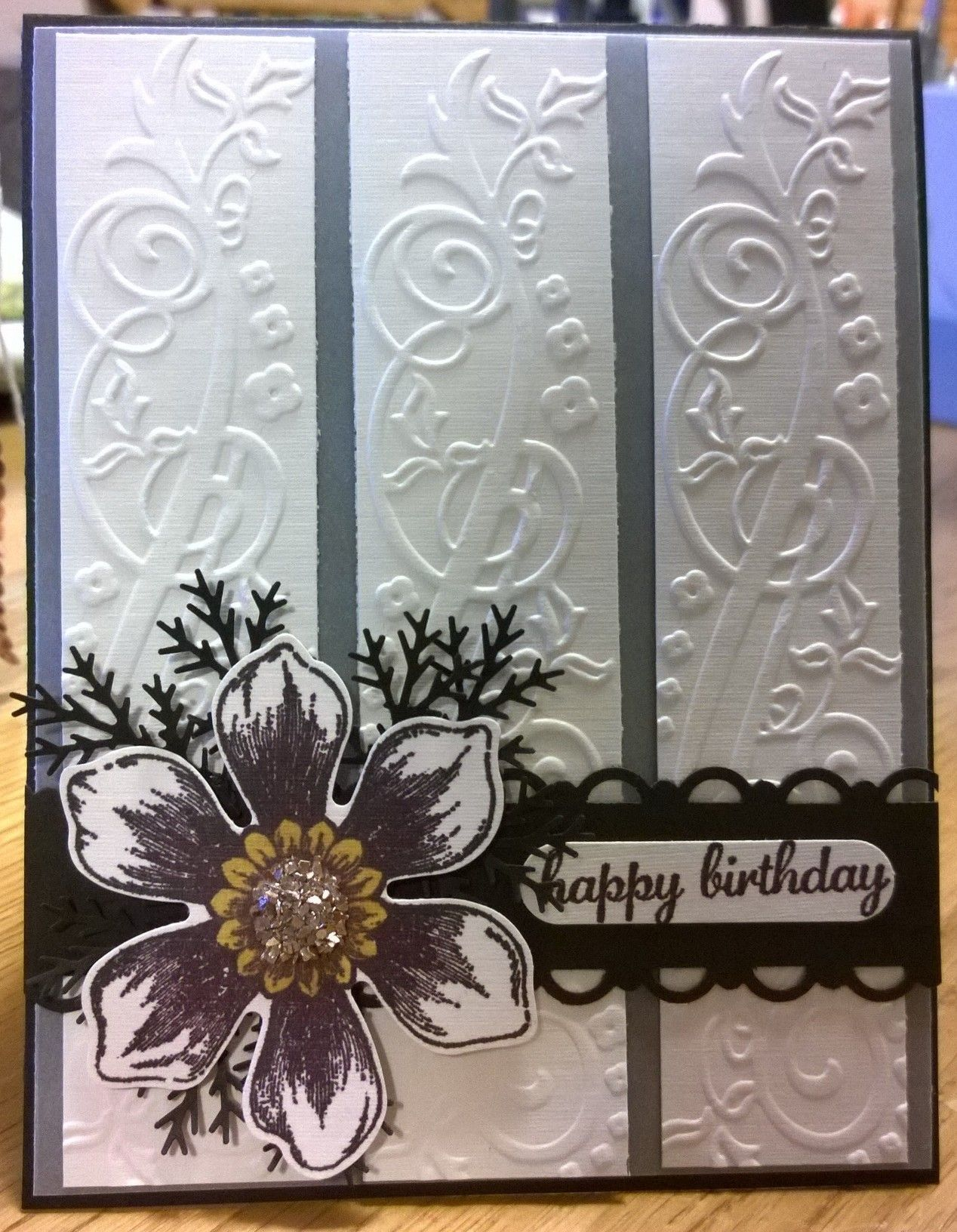 stampin up beautiful bunch  birthday cards for women