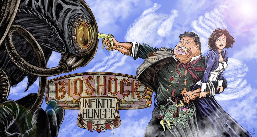 via Reddit user whassupbun Bioshock Infinite Hunger Fun