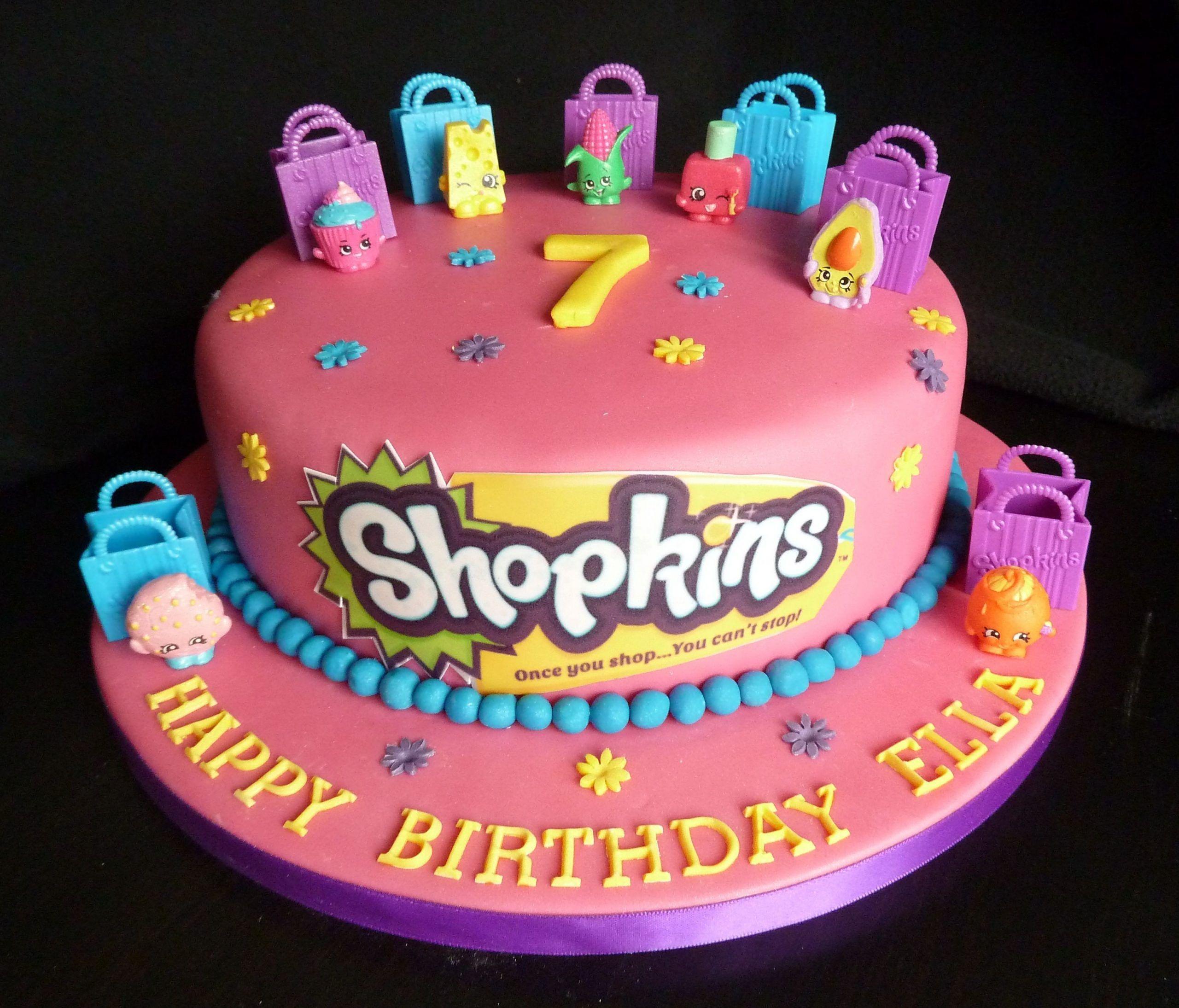 Shopkins Birthday Cake Ideas In 2020