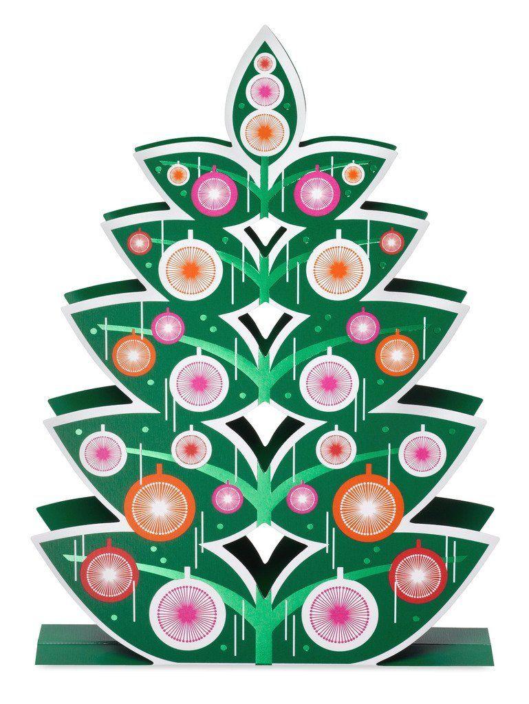 Amazon.com : Retro Tree Holiday Cards by John McDonald MoMA | Modern ...