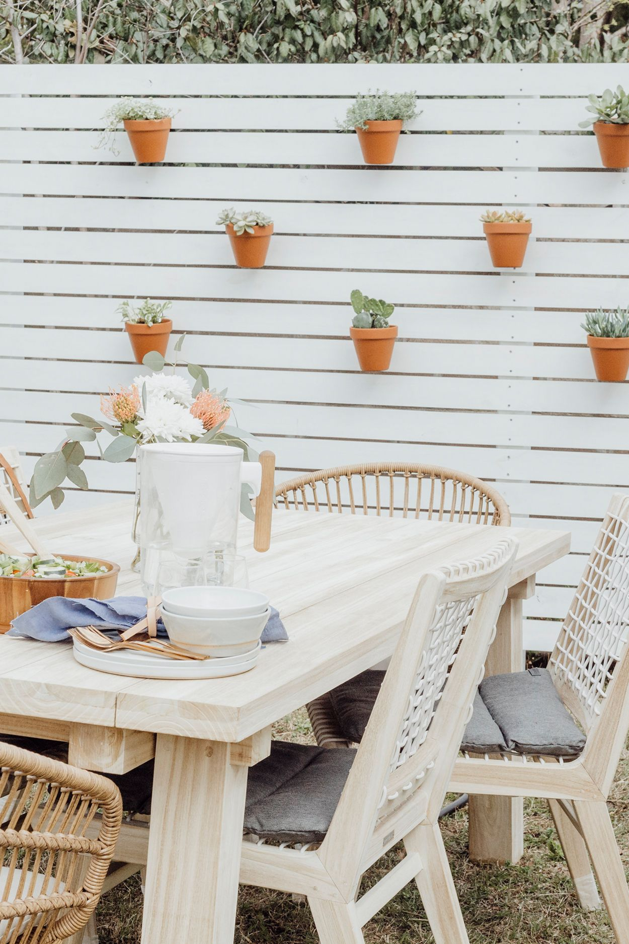 Brunch Is Always Better On The Teaka Table Photo By Courtney Weston Wooden Outdoor Furniture Dining Chairs Furniture