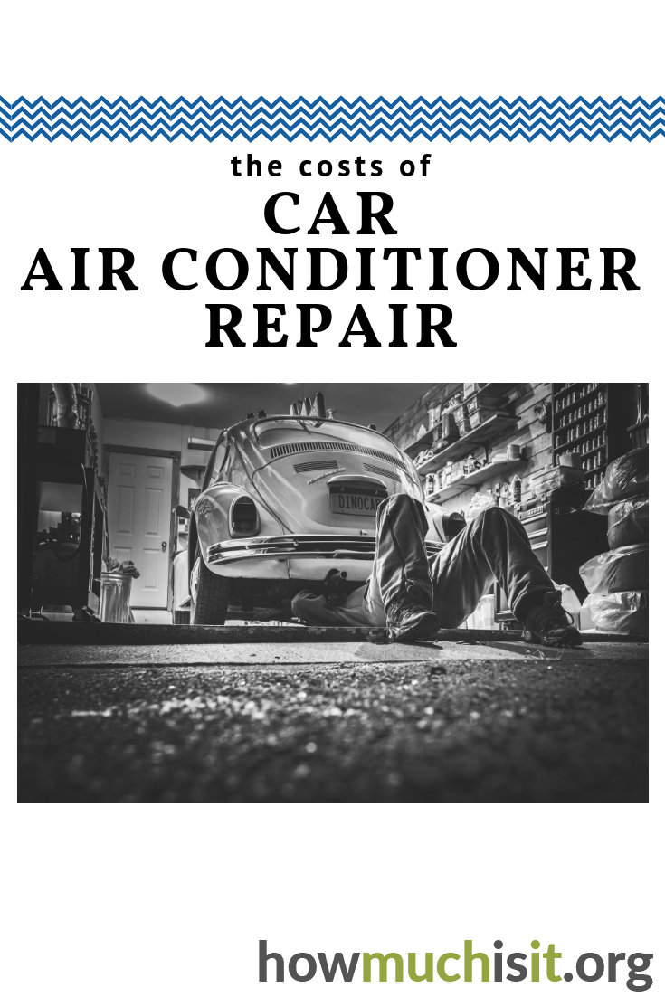 Car air conditioner repair costs. Find out what this